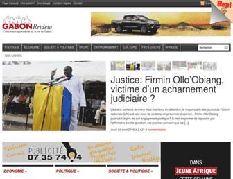 Thumbshot of Gabonreview.com