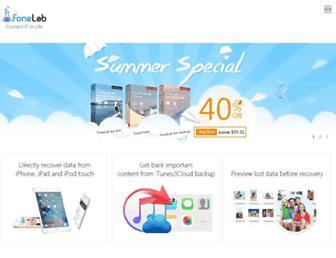 fonelab.com screenshot