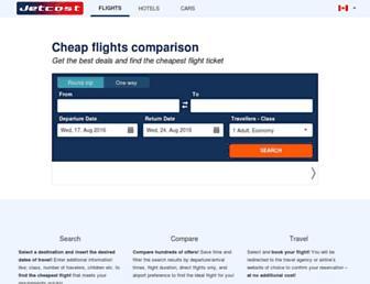 ca.jetcost.com screenshot