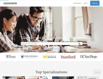 coursera.org screenshot
