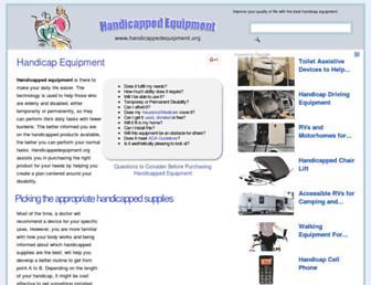 handicappedequipment.org screenshot