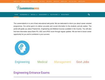 careerindiainfo.in screenshot