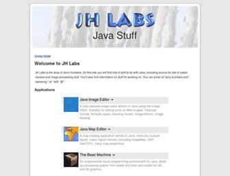 jhlabs.com screenshot