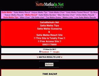 sattamatkain.net screenshot