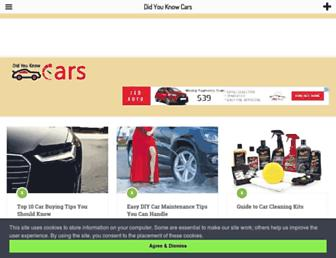 didyouknowcars.com screenshot