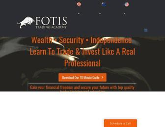 fotistradingacademy.com screenshot