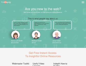 firstsiteguide.com screenshot