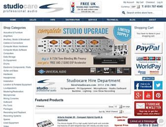 studiocare.com screenshot