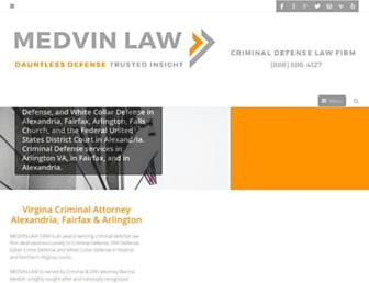 medvinlaw.com screenshot