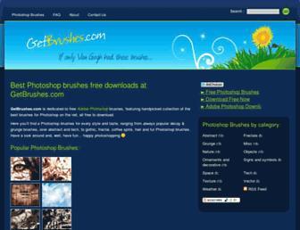Thumbshot of Getbrushes.com