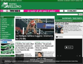 Thumbshot of Tuttoavellino.it