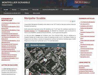montpellier-scrabble.org screenshot