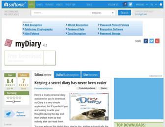 mydiary.en.softonic.com screenshot
