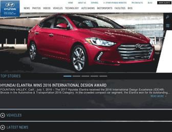 Thumbshot of Hyundainews.com