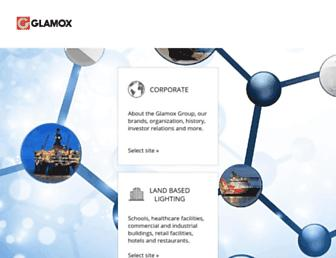 glamox.com screenshot