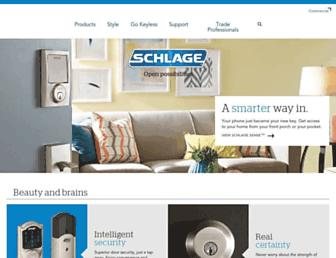 Thumbshot of Schlage.com