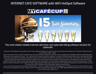 mycafecup.com screenshot