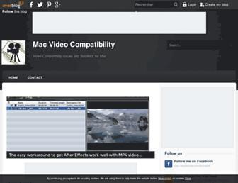 mac-video-compatibility.over-blog.com screenshot