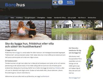 borohus.se screenshot