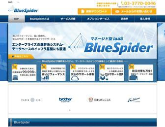 Thumbshot of Bluespider.jp