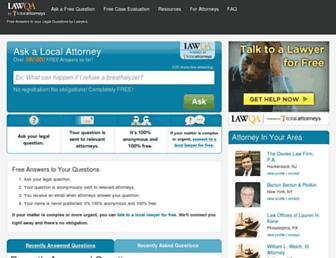 Thumbshot of Lawqa.com