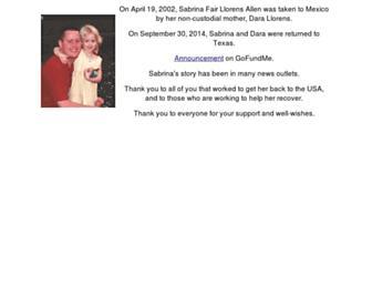 Thumbshot of Findsabrina.org