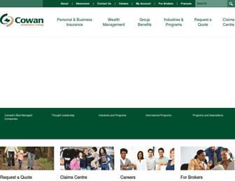 cowangroup.ca screenshot