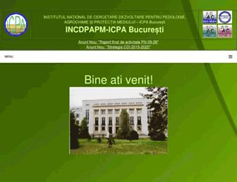 icpa.ro screenshot