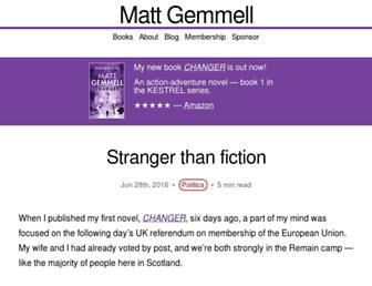 Thumbshot of Mattgemmell.com