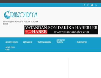 Thumbshot of Trabzondayim.com