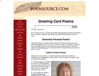 poemsource.com screenshot