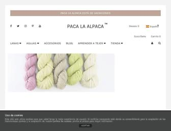 pacalaalpaca.com screenshot