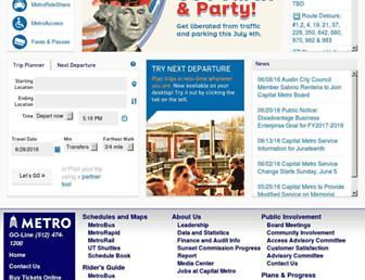 capmetro.org screenshot