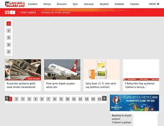 hurriyet.com.tr screenshot