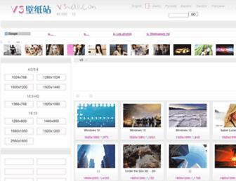 v3wall.com screenshot