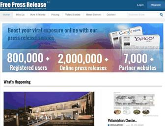 Thumbshot of Free-press-release.com