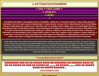 matkaguru.mobi screenshot