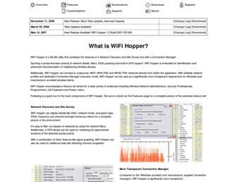 wifihopper.com screenshot