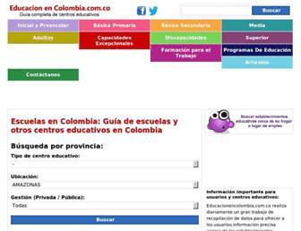 guia-bogota.educacionencolombia.com.co screenshot