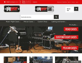 giggear.com.au screenshot
