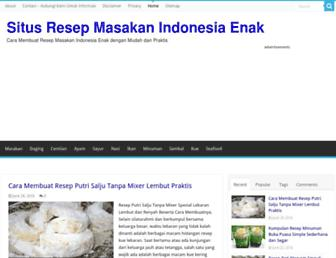 resepcaramemasak.info screenshot