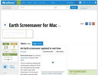 earth-screensaver.en.softonic.com screenshot