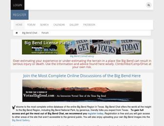 bigbendchat.com screenshot