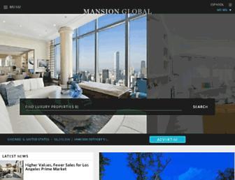 mansionglobal.com screenshot