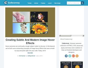 codeconvey.com screenshot