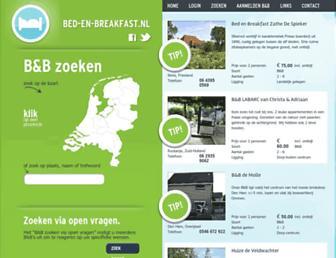 Thumbshot of Bed-en-breakfast.nl