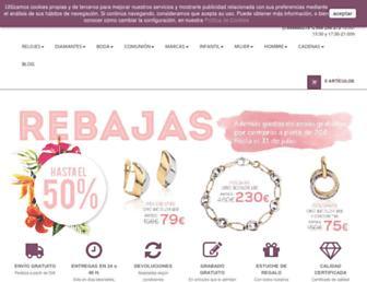 joyeriasanchez.com screenshot