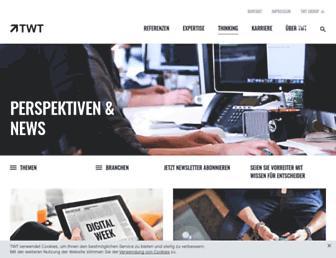 Main page screenshot of digitalnext.de