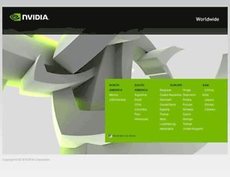 nvidia.ca screenshot