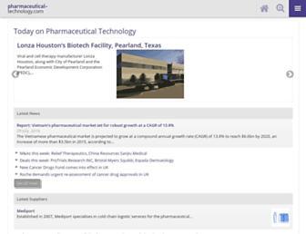 pharmaceutical-technology.com screenshot